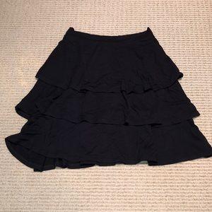 Michael Stars three tiered cotton mini skirt